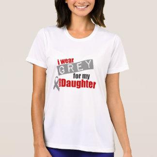 Ich trage Grau für meine Schritt-Tochter T-Shirt