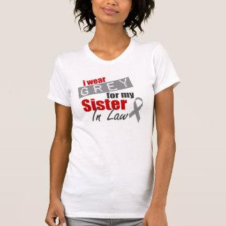 Ich trage Grau für meine Schwägerin T-Shirt