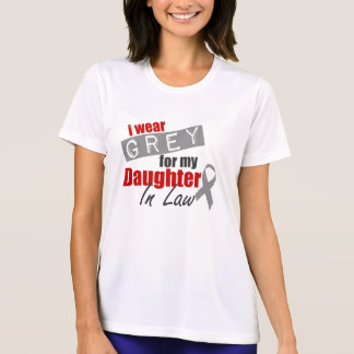Ich trage Grau für meine Schwiegertochter T-Shirt