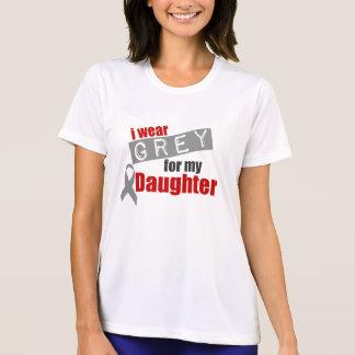 Ich trage Grau für meine Tochter T-Shirt