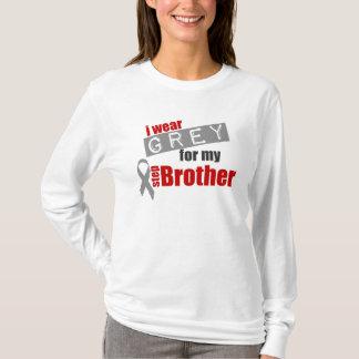 Ich trage Grau für meinen Schritt-Bruder T-Shirt