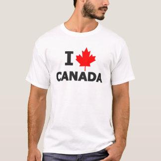 Ich treibe Kanada-T - Shirt Blätter