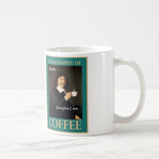Ich trinke, deshalb bin ich kaffeetasse