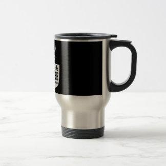 Ich trinke Kaffee für Ihren Schutz Reisebecher