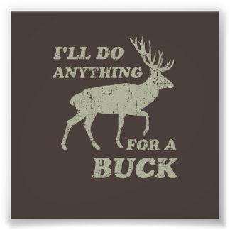 Ich tue alles für eine Dollar-Jagd Photographie
