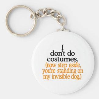 Ich tue nicht Kostüme Schlüsselanhänger