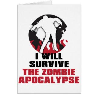 Ich überlebe die Zombie-Apokalypse Karte