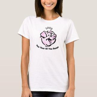 Ich überlebte die Schwein-Grippe 2009 T-Shirt