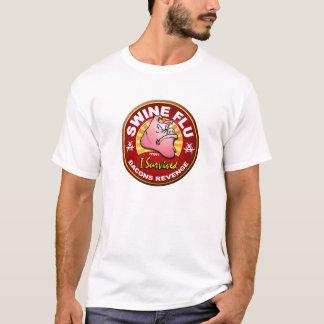 Ich überlebte die Schwein-Grippe - H1N1 T-Shirt