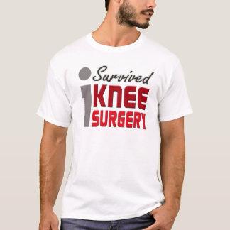 Ich überlebte Knie-Operations-Shirt T-Shirt