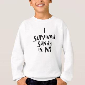 Ich überlebte Sandy in NY.png Sweatshirt