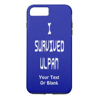 Ich überlebte Ulpan iPhone 8 Plus/7 Plus Hülle