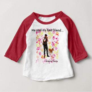 Ich und mein bester Freund-Kleinkind-Hemd Baby T-shirt