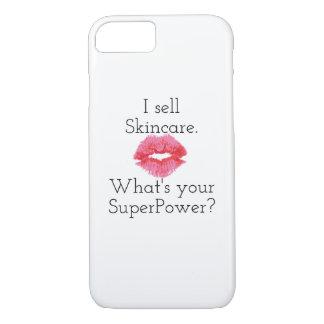 Ich verkaufe Skincare. Was ist Ihre Supermacht? iPhone 8/7 Hülle