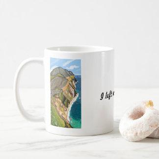 Ich verließ mein Herz bei Bixby, | Impressionisten Kaffeetasse