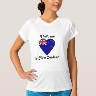Ich verließ mein Herz in Neuseeland T-Shirt