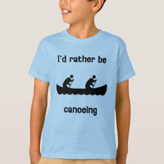 Ich vielmehr canoeing T-Shirt