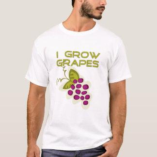 Ich wachse Trauben-T-Shirts und Geschenke T-Shirt