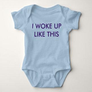 Ich wachte so auf (Baby one-sie) Baby Strampler