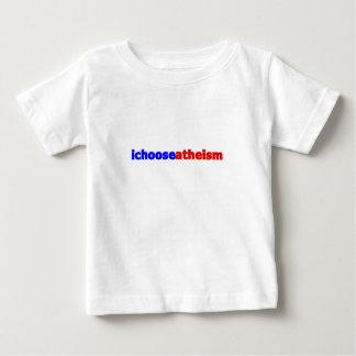Ich wähle Atheismus Baby T-shirt