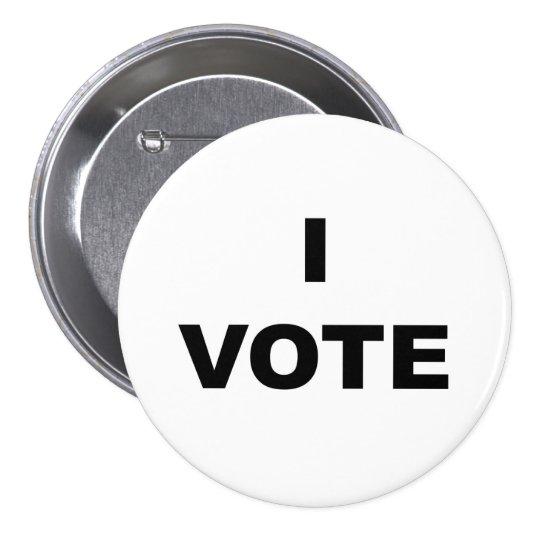 Ich wähle runder button 7,6 cm