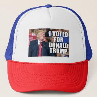 Ich wählte für Trumpf! Truckerkappe