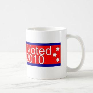 Ich wählte Republikaner im Jahre 2010! Kaffeetasse