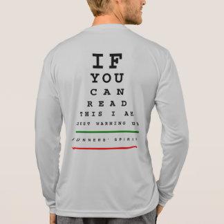 Ich wärme Augen-Diagramm - Sport-Tek LS-Betrieb T-Shirt