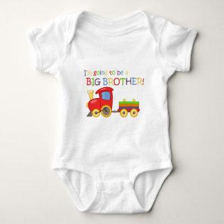 Ich werde ein großer Bruder sein! Baby Strampler