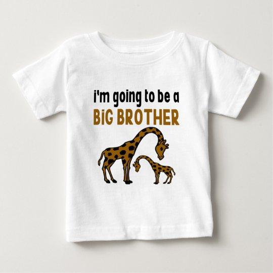 Ich WERDE EIN GROSSER BRUDER SEIN Baby T-shirt
