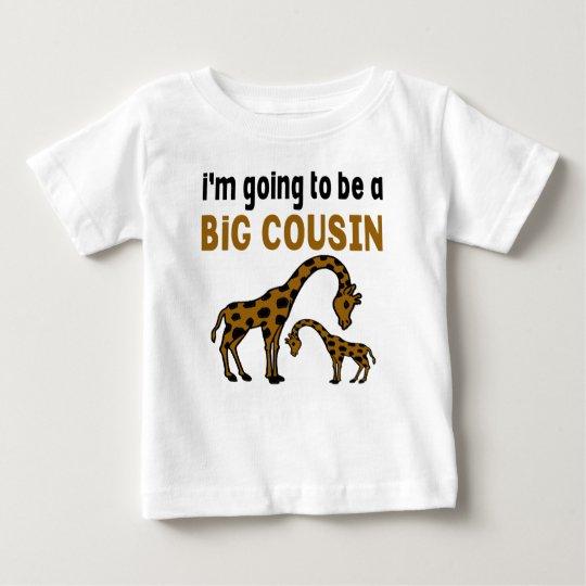 Ich WERDE EIN GROSSER COUSIN SEIN Baby T-shirt
