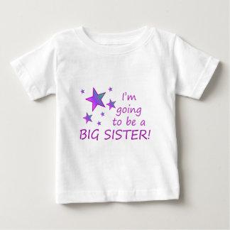 Ich werde eine große Schwester sein! Baby T-shirt