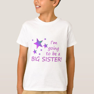 Ich werde eine große Schwester sein! T-Shirt