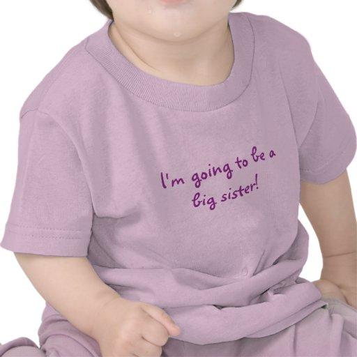 Ich werde eine große Schwester sein! Shirts