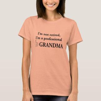 Ich werde nicht, ich bin eine berufliche T-Shirt