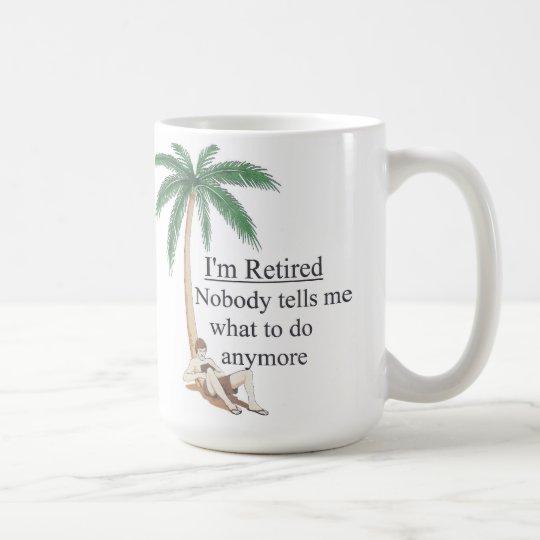 Ich werde zurückgezogen tasse