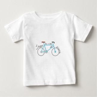 Ich will, um mein Fahrrad zu fahren Baby T-shirt