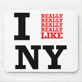 Ich wirklich mag wirklich wirklich NY Mousepad