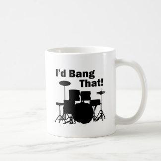 Ich würde den schlagen! kaffeetasse