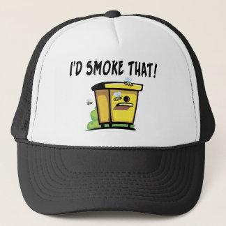 Ich würde diesen Bienen-Bienenstock rauchen Truckerkappe