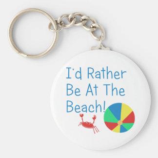 Ich würde eher am Strand sein Schlüsselanhänger