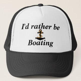 Ich würde eher Bootfahrt-Hut sein Truckerkappe