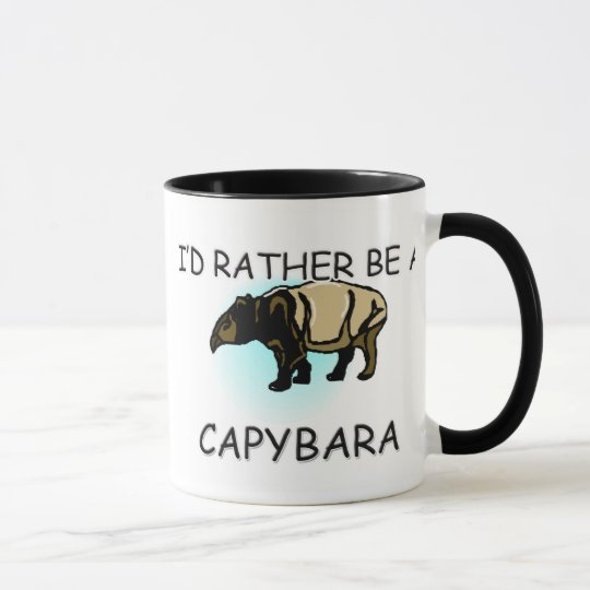 Ich würde eher ein Capybara sein Tasse