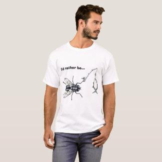 Ich würde eher Fliegenfischen sein T-Shirt