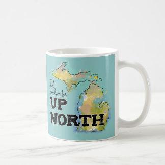 Ich würde eher herauf Nordmichigan sein Tasse