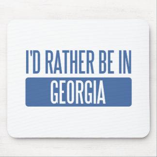 Ich würde eher in Georgia sein Mauspad
