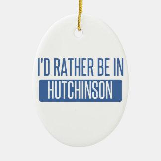Ich würde eher in Hutchinson sein Keramik Ornament