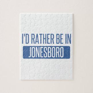 Ich würde eher in Jonesboro sein