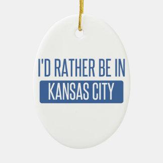 Ich würde eher in Kansas City KS sein Keramik Ornament