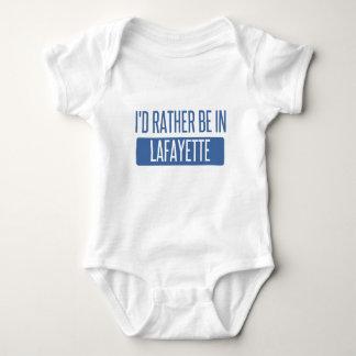 Ich würde eher in Lafayette HEREIN sein Baby Strampler